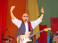Tim Hain and Worx FM at Clare World Music Festival 2003